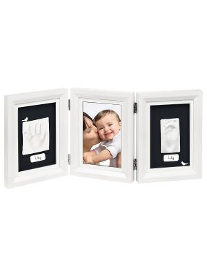 Рамочка тройная Классика; белый Baby Art. Цвет: белый