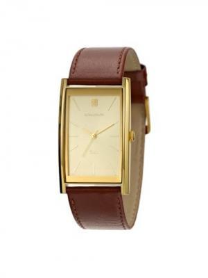 Часы DL2158CM Romanson. Цвет: коричневый, золотистый