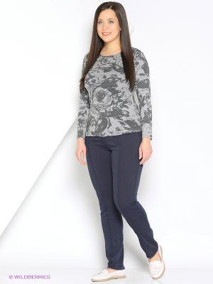 Блузка СТиКО. Цвет: серый
