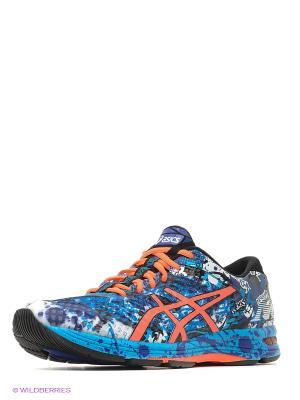 Кроссовки GEL-NOOSA TRI 11 ASICS. Цвет: синий, голубой, оранжевый