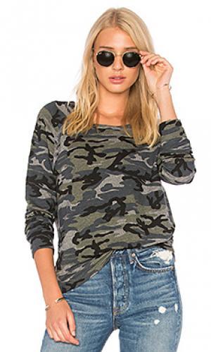 Спортивный пуловер SUNDRY. Цвет: серый
