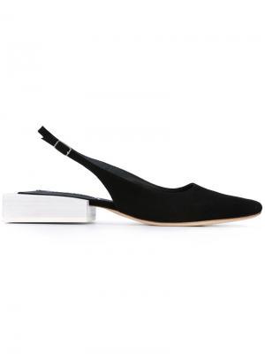 Туфли с открытым задником Jacquemus. Цвет: чёрный