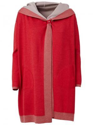 Двухстороннее пальто Maison Ullens. Цвет: красный