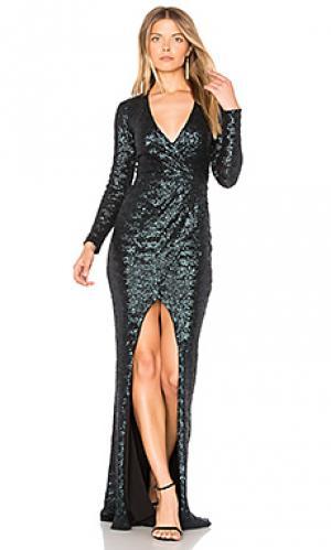 Вечернее платье cannes Nookie. Цвет: зеленый