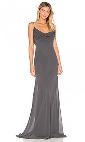 Вечернее платье eden Katie May. Цвет: уголь