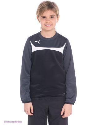 Джемпер Esito 3 Training Sweat Puma. Цвет: черный, темно-серый