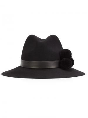 Шляпа Malise Yosuzi. Цвет: чёрный