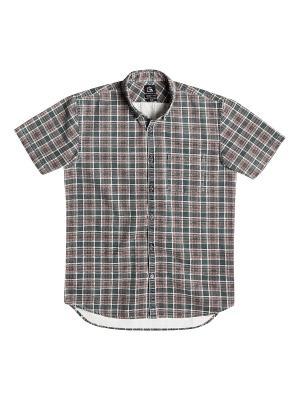 Рубашка Quiksilver. Цвет: серый, темно-серый, бронзовый