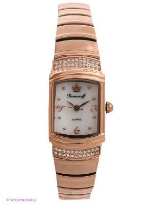 Часы Romanoff. Цвет: золотистый