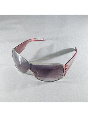 Солнцезащитные очки MACAR. Цвет: бордовый