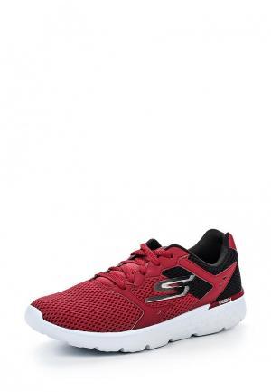 Кроссовки Skechers. Цвет: бордовый