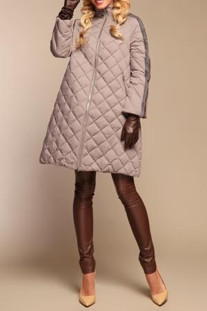 Пальто Naumi. Цвет: коричневый