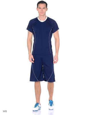 Спортивный костюм для футбола Bars. Цвет: синий