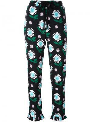 Укороченные брюки Markus Lupfer. Цвет: чёрный