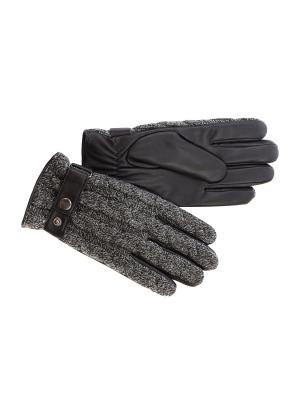 Перчатки LACCOM. Цвет: серый