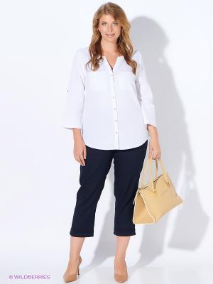 Блузка ARBOR VITAE. Цвет: белый