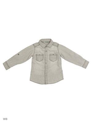 Рубашка Reserved. Цвет: светло-серый
