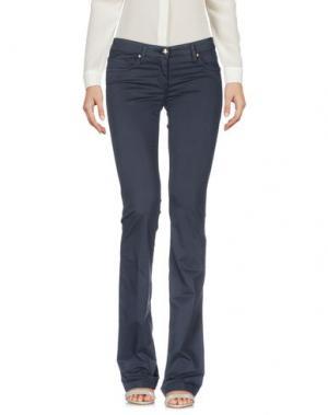 Повседневные брюки BETTY BLUE. Цвет: стальной серый