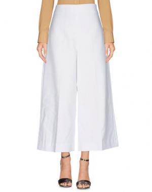 Повседневные брюки F.IT. Цвет: белый