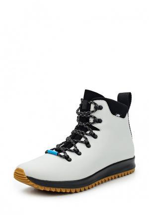 Ботинки Native. Цвет: серый