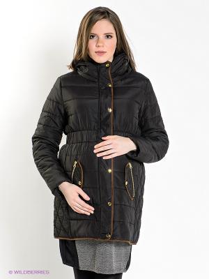 Куртка Mama Licious. Цвет: черный
