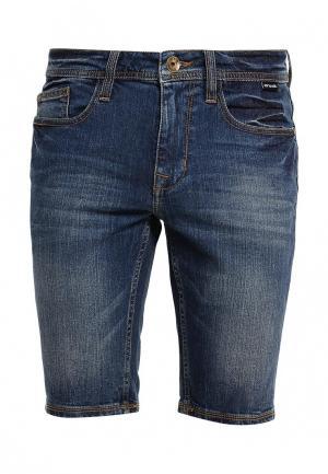 Шорты джинсовые Animal. Цвет: синий