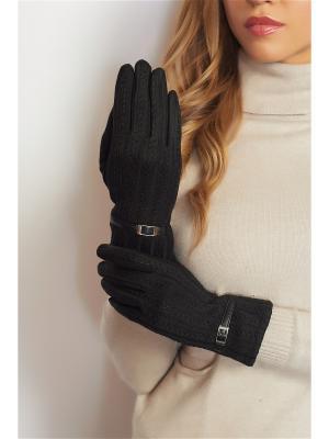 Перчатки Abby. Цвет: черный