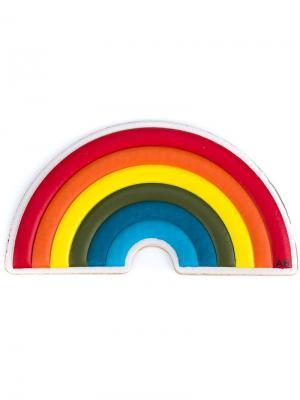 Наклейка Rinbow Anya Hindmarch. Цвет: многоцветный