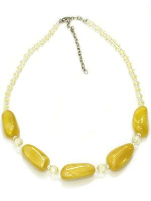 Ожерелье Bohemia Style. Цвет: желтый