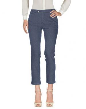 Повседневные брюки SOEUR. Цвет: стальной серый