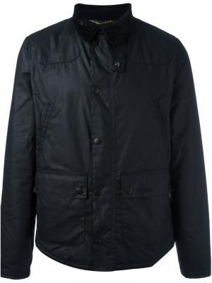 Куртка Reelin Barbour. Цвет: синий