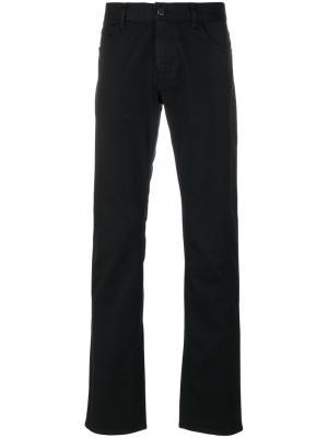 Слегка расклешенные джинсы Prada. Цвет: чёрный