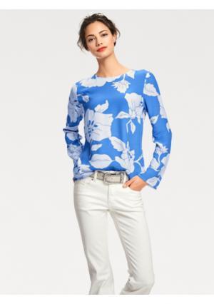 Блузка RICK CARDONA by Heine. Цвет: синий