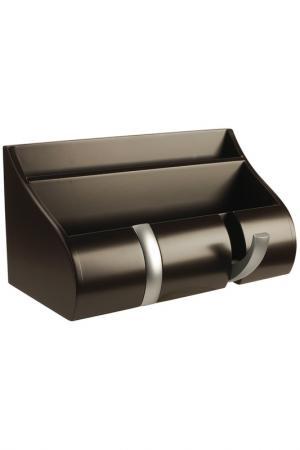 Полка-органайзер для прихожей UMBRA. Цвет: коричневый