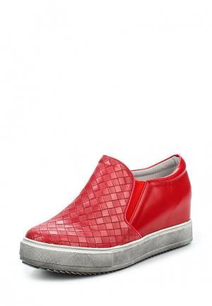 Ботильоны Sweet Shoes. Цвет: красный