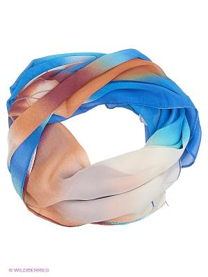 Платок Shapkoff. Цвет: синий, коричневый