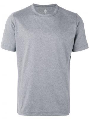 Классическая футболка Eleventy. Цвет: серый