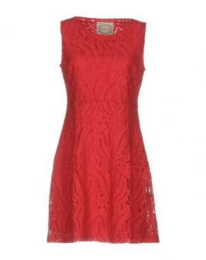 Короткое платье PINK MEMORIES. Цвет: красный