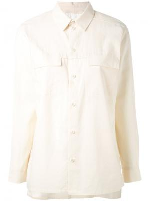 Рубашка  Farmer Toogood. Цвет: телесный