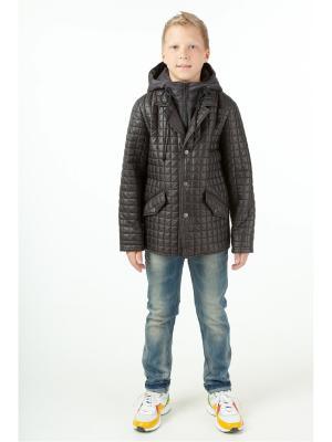 Куртка batik. Цвет: черный
