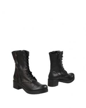 Полусапоги и высокие ботинки PIERRE DARRÉ. Цвет: черный