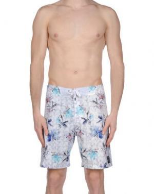 Пляжные брюки и шорты HUMDRUM. Цвет: сиреневый