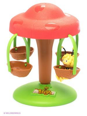 Набор Карусель с фигуркой IMC toys. Цвет: зеленый, розовый, желтый