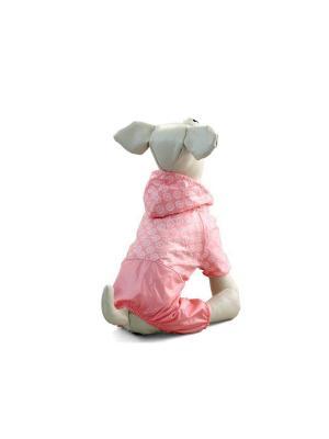 Костюм-дождевик TRIOL. Цвет: розовый