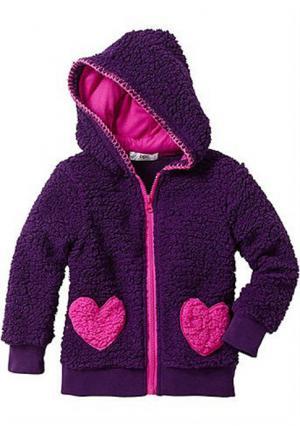 Куртка. Цвет: темно-лиловый/фуксия