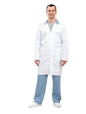 Халат медицинский Santorini. Цвет: белый