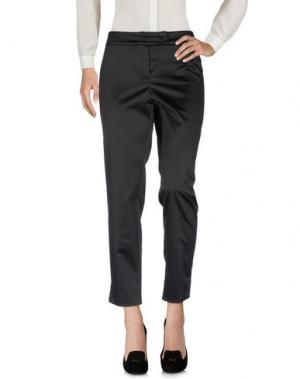 Повседневные брюки EVALINKA. Цвет: черный