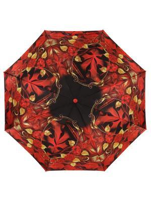 Зонт DINIYA. Цвет: черный, красный