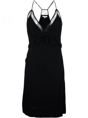 Платье Priskie Iro. Цвет: чёрный