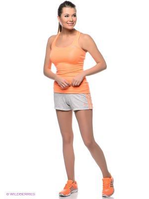 Шорты ESS 3S SHORT Adidas. Цвет: светло-серый, оранжевый